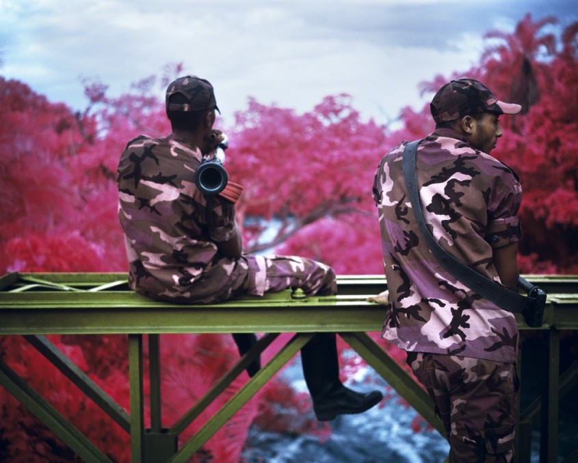 Richard Mosse Peace Attack, Virunga National Park, North Kivu, 2012 Jack Shainman Gallery