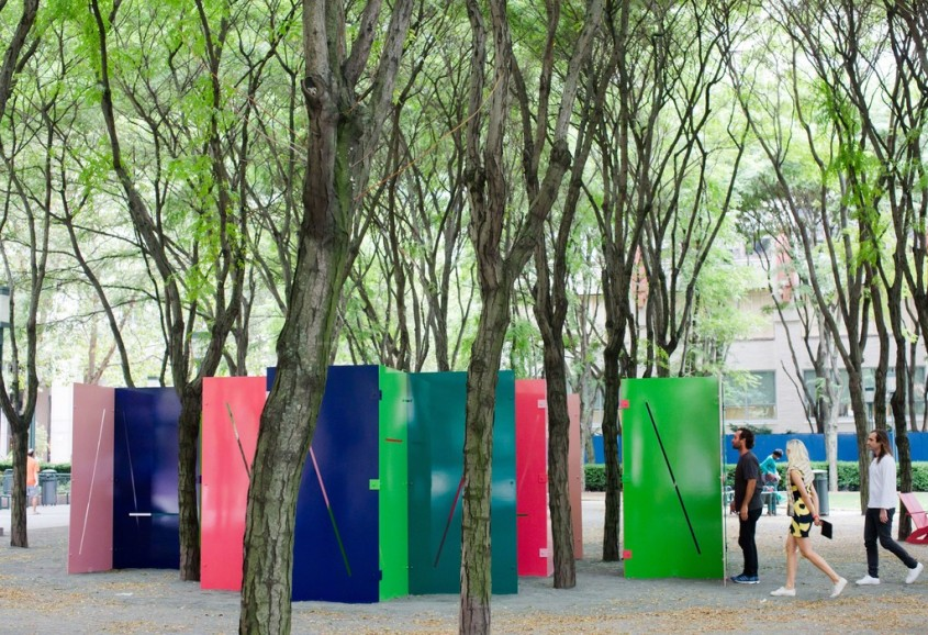 Sam Falls Untitled (Maze), 2014 Public Art Fund