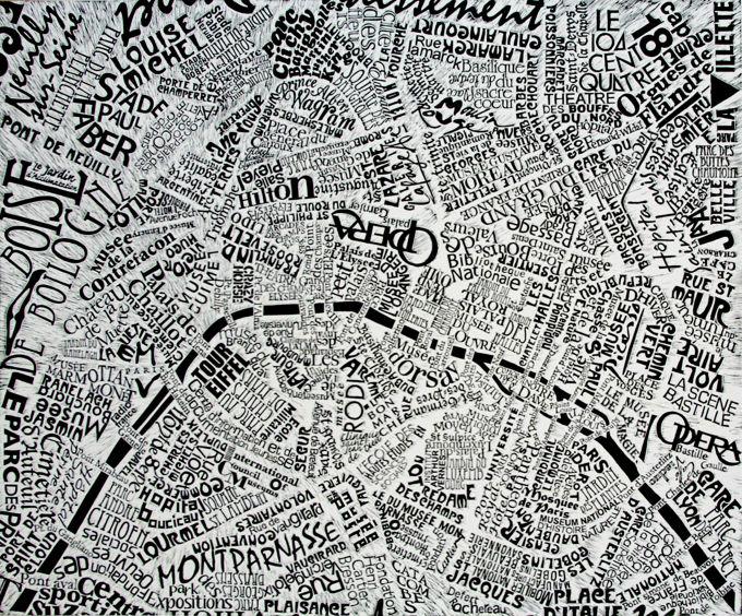 """Berlin Map"" / Image via Mark Andrew Webber"