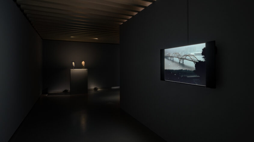 installation view of the exhibiton