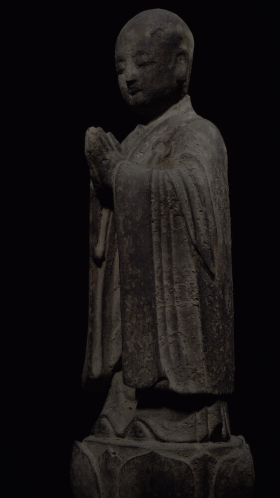 Drawing Study - Wood Standing Ananda, Song Dynasty